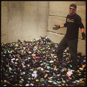 February 7th, GlassRecycling