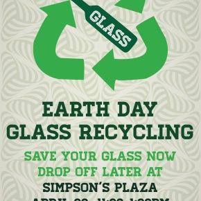 Glass Recycling: Earth Day!