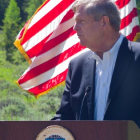 Agriculture Secretary Vilsack in Wyoming