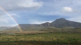 Yellowstone rainbow