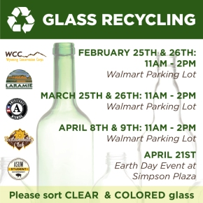 Glass Recycling Collection