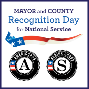 Mayor and County Recognition Day for National Service