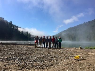 Last morning at Bailey Lake